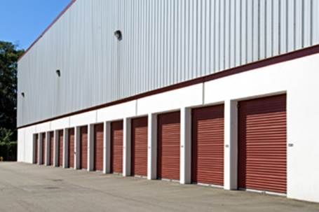 Storage Units Outside View